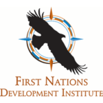 First Nations Development Institute Logo showing a bird flying in the middle of a dream catcher